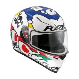 AGV K-3 SV Comic Full Face Helmet White