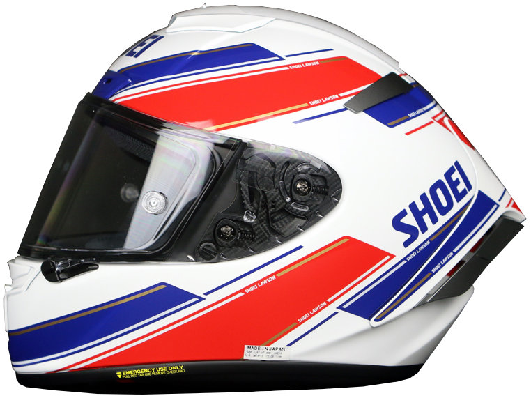 849 99 Shoei X Fourteen X14 X 14 Eddie Lawson Replica