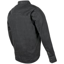 Speed & Strength Mens Last Man Standing Long Sleeve Armored Moto Shirt Black
