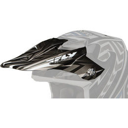 Grey, Black Fly Racing Replacement Visor F F2 Carbon Andrew Short Replica Helmet Grey Black
