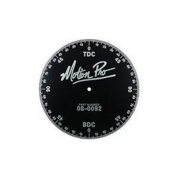 Motion Pro Engine Timing Degree Wheel Anodized Aluminum