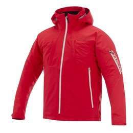 Red Alpinestars Mens Lance 3 Layer Waterproof Textile Jacket 2014