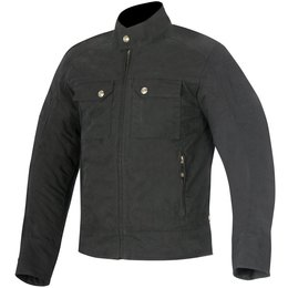 Alpinestars Mens Oscar Collection Ray Canvas Jacket Black
