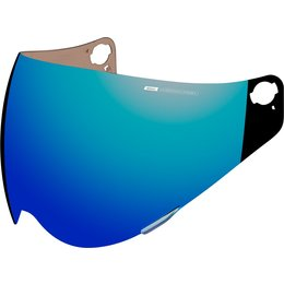 Icon Variant Precision Optics Dual Sport Helmet Shield Blue