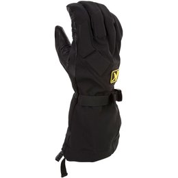 Klim Mens Togwotee Gore-Tex Removable Fleece Liner Snowmobile Gloves Black