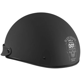 Black Brand Cheater Series .5 Half Helmet Black