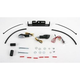 Black Mount/clear Lens Targa Tail Kit With Signals Black For Yamaha Fz1 Fz-1 06-09