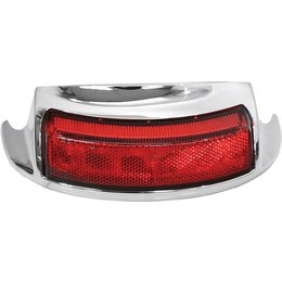 HardDrive Rear Fender LED Tip Light With Red Lens For Harley-Davidson F51-0645R Red