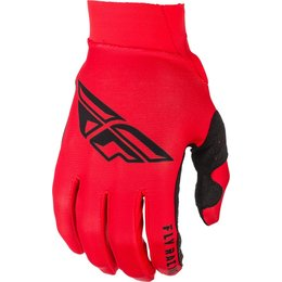 Fly Racing Mens Pro Lite Gloves Red