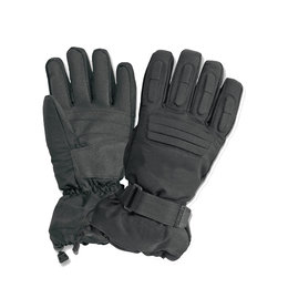 Vega Mens Snow Gloves Black