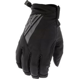 Fly Racing Youth Snow Title MX Gloves Black