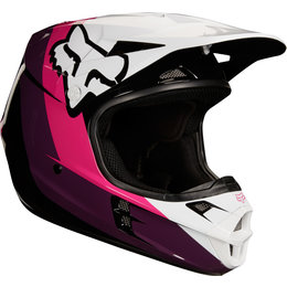 Fox Racing Youth Girls V1 Halyn MX Helmet Black