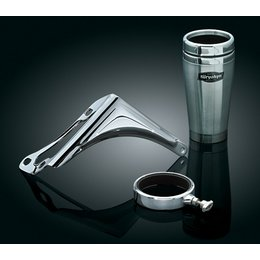 Chrome Kuryakyn Passenger Drink Holder With Cup For Harley Flhtc Cu K Fltru Use 98-12
