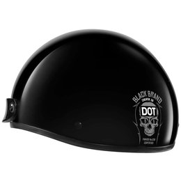 Black Brand Cheater Series .5 Half Helmet Black