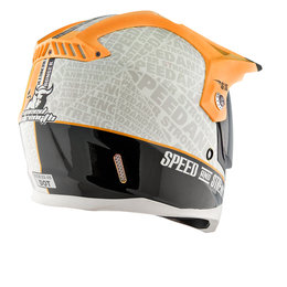 Hi-vis Orange Speed & Strength Ss2500 Hell 'n Back Full Face Helmet