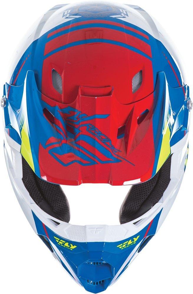 Full Face Cruiser Helmets >> $124.95 Fly Racing Kinetic Pro Trey Canard Replica Helmet #197973