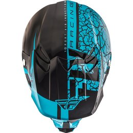 Fly Racing F2 Carbon Fracture Helmet Blue
