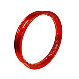 Pro-Wheel Rear Rim For Mini Bike 1.85x16 Aluminum Red For KTM Suzuki Yamaha