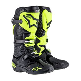 Alpinestars Mens Tech 10 RV2 MX/Offroad Riding Boots 2015 Black