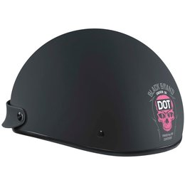 Black Brand Womens Cheater Series .5 Half Helmet