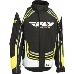 Fly Racing Mens SNX Pro Snocross Jacket Black