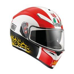 AGV K-3 SV Simoncelli Replica Full Face Helmet Red