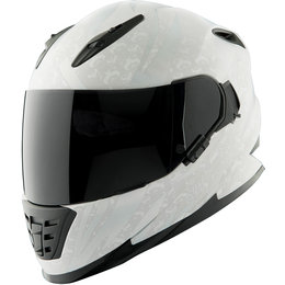 Speed & Strength Womens Cat Outa Hell SS1600 Full Face Helmet Silver