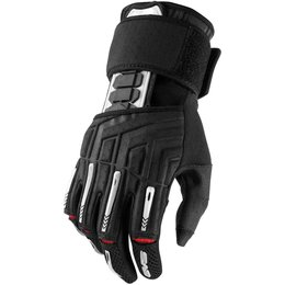 EVS Mens Wrister Textile Gloves Black