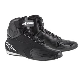 Black Alpinestars Mens Faster Riding Shoes 2014 Us 6