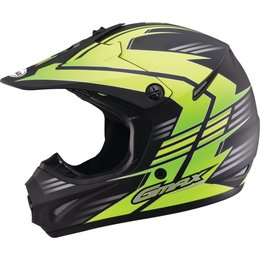 GMAX GM46.2X Race Offroad Motocross Helmet Black