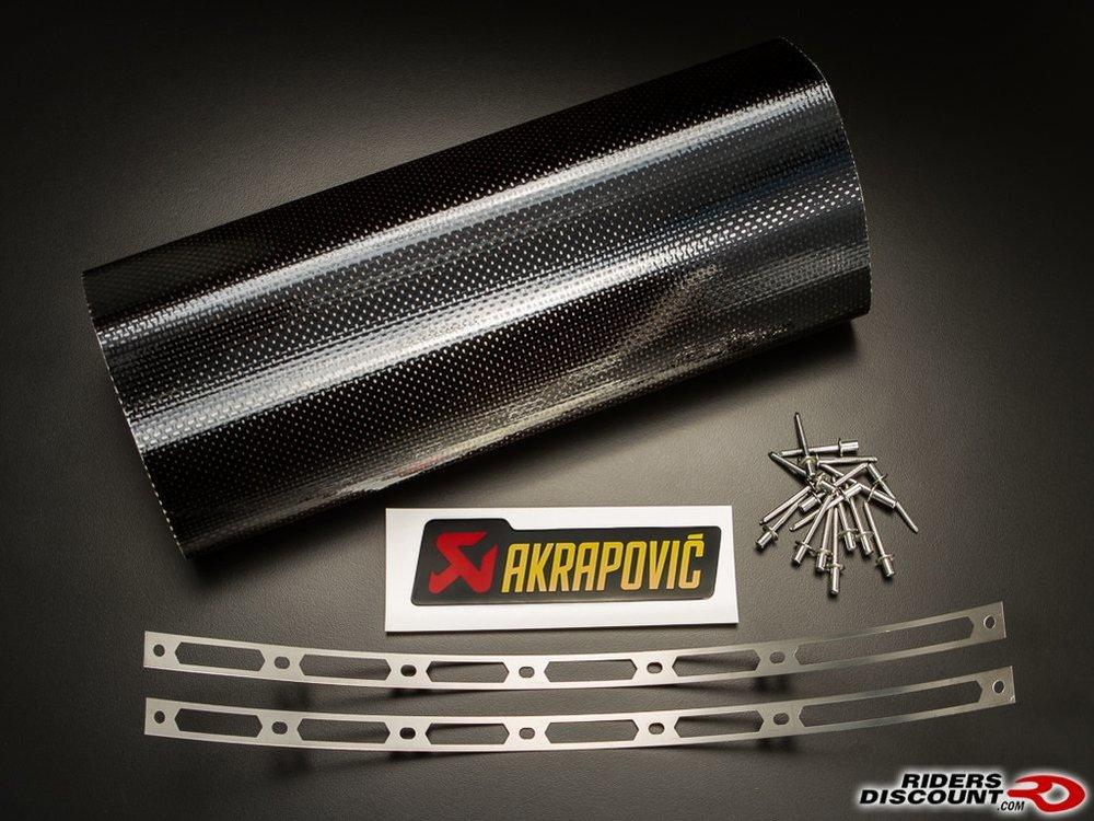 174 95 Akrapovic Repair Kit For Muffler Sleeve Titanium
