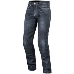 Alpinestars Mens Oscar Collection Charlie Armored Denim Riding Pants Blue