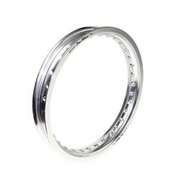 Pro-Wheel Rear Rim For Mini Bike 1.85x16 Aluminum Silver For Suzuki Yamaha