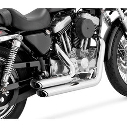 Vance & Hines Shortshots Staggered Dual Exhaust For Harley Sportster 17223