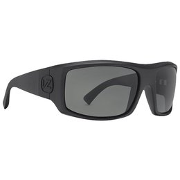 Black Satin/grey Vonzipper Clutch Shift Into Neutral Sunglasses Black Satin Grey One Size