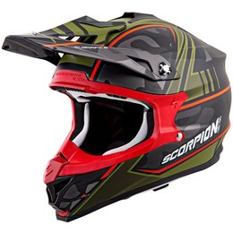 Scorpion VX-35 VX35 Miramar Helmet Red