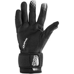 EVS Mens Wrister Textile Gloves Black