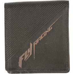 Fly Racing Mens Leather Bifold Wallet