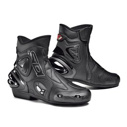 Sidi Mens Apex Short Riding Boots Black