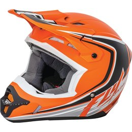 Fly Racing Youth Kinetic Fullspeed Helmet Orange
