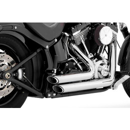 Vance & Hines Shortshots Staggered Dual Exhaust For Harley-Davidson Softail