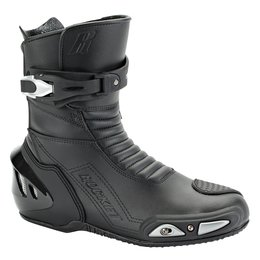 Black Joe Rocket Mens Super Street Rx14 Rx-14 Leather Boots 2014 Us 7