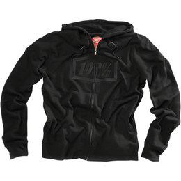 100% Mens Syndicate Official Zip-Up Cotton Blend Hoodie Black
