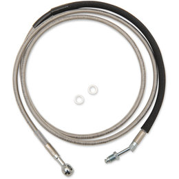 Drag Specialties Hydraulic Clutch Line For Harley-Davidson Natural 0661-0049 Unpainted