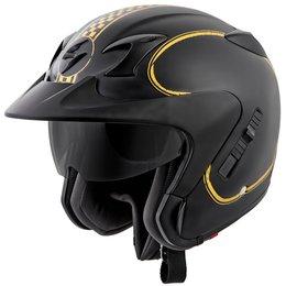 Scorpion EXO-CT220 EXOCT220 Bixby Open Face Helmet Black
