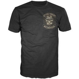 Lethal Threat Mens Spider Biker T-Shirt 2014 Black