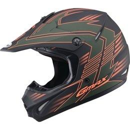 GMAX GM46.2X Race Offroad Motocross Helmet Green