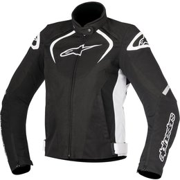 Alpinestars Womens Stella T-Jaws Waterproof Armored Textile Riding Jacket Black