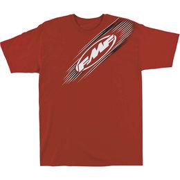 FMF Mens Streak Cotton T-Shirt Red