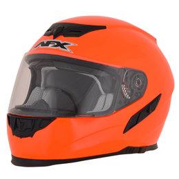AFX FX-105 FX105 Full Face Helmet Orange